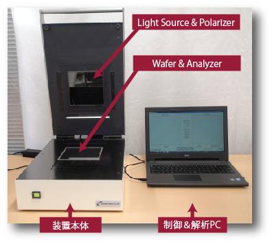 結晶内歪観察装置CS1