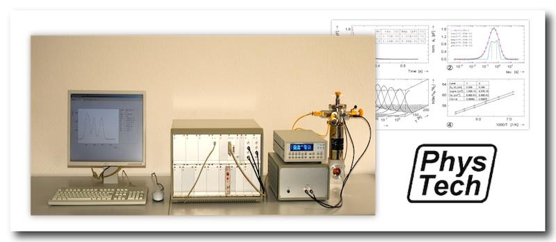 半導体分析装置 Phystech社 DLTSシステム HERA
